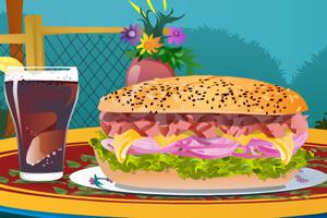 美味超级大汉堡