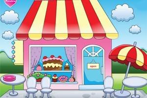 布置蛋糕店
