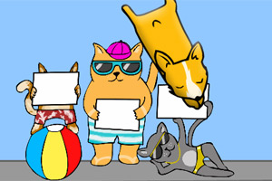 动物界跳水大赛