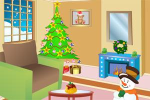 装饰圣诞节客厅