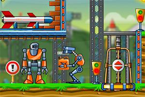 智能机器人选关版