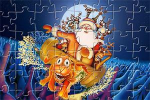 圣诞老人拼图