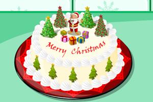 圣诞节香美蛋糕
