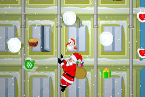 圣诞老人爬水管无敌版