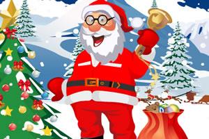 给圣诞老人装扮