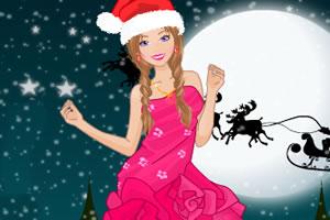 芭比的圣诞节服饰