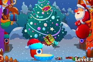 圣诞欢乐接礼物
