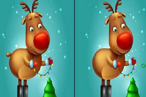圣诞节来找不同