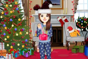 女孩的圣诞新衣