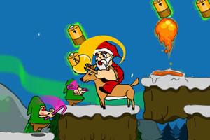 圣诞老人收电池