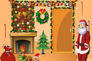 圣诞老人逃离房间