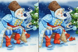 欢乐圣诞找不同