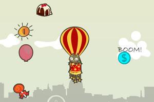 凯蒂猫的热气球