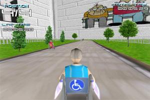 3D轮椅赛