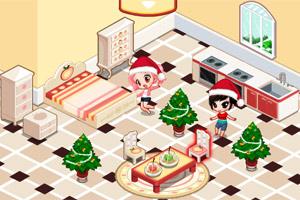 圣诞节苹果屋
