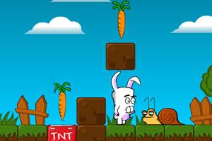 龅牙兔找萝卜