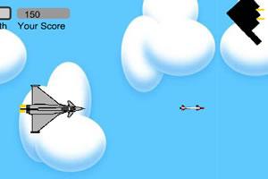 飞在风中的纸飞机