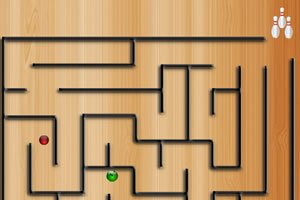 迷宫保龄球