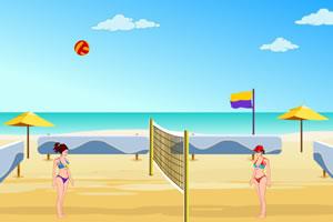 激战沙滩排球