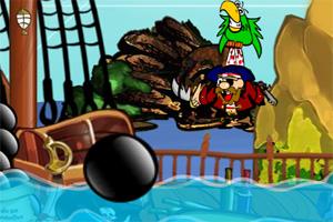 海盗躲炮弹