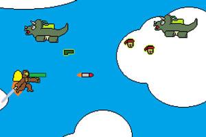 猩猩大战恐龙