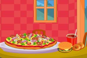 自助式披萨