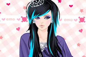 性格女孩化妆