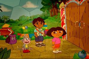 朵拉和迭戈拼图