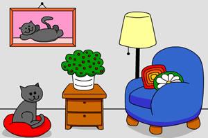 逃出猫咪房间