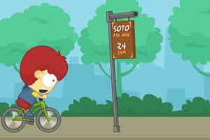 骑自行车追爱