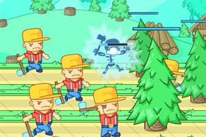 大战伐木工