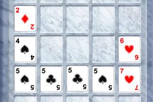 扑克牌碰碰看