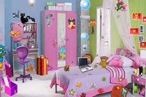 可爱的卧室