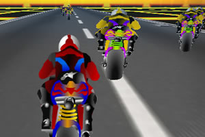 3D摩托挑战