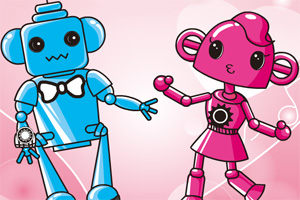 恋爱中的机器人