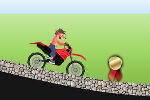 古惑狼骑摩托
