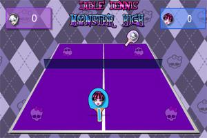 怪物高中乒乓球赛