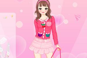 粉红小女孩