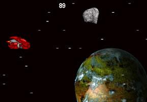 躲避星际陨石