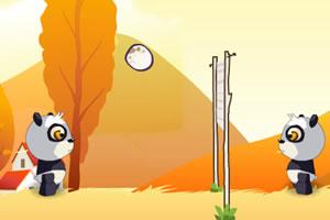 熊猫鸡蛋排球