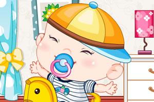 打扮可爱小宝宝