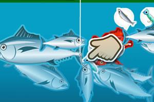 寿司钓鲜鱼