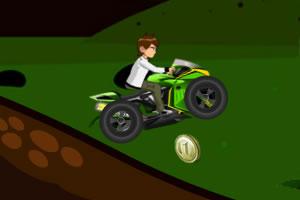 少年骇客骑摩托车