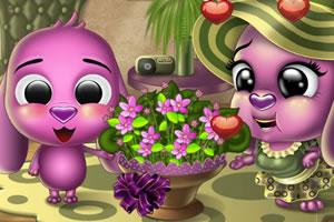 托托送花给妈妈