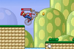 马里奥玩转自行车2