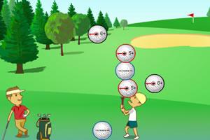 高尔夫接球赛