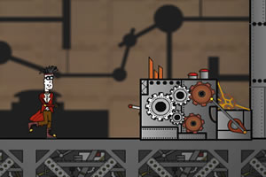 古堡的实验室