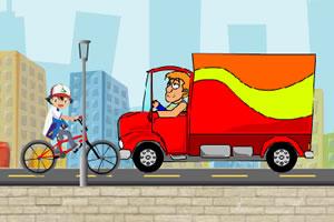 小智骑自行车