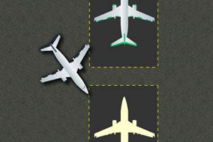 飞机场停飞机