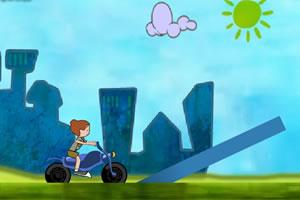 奇趣摩托车